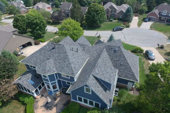 Multi-Story Complex Residential Roof - Indianapolis