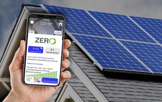 Go Zero Solar Energy Contractor for Residential Homes