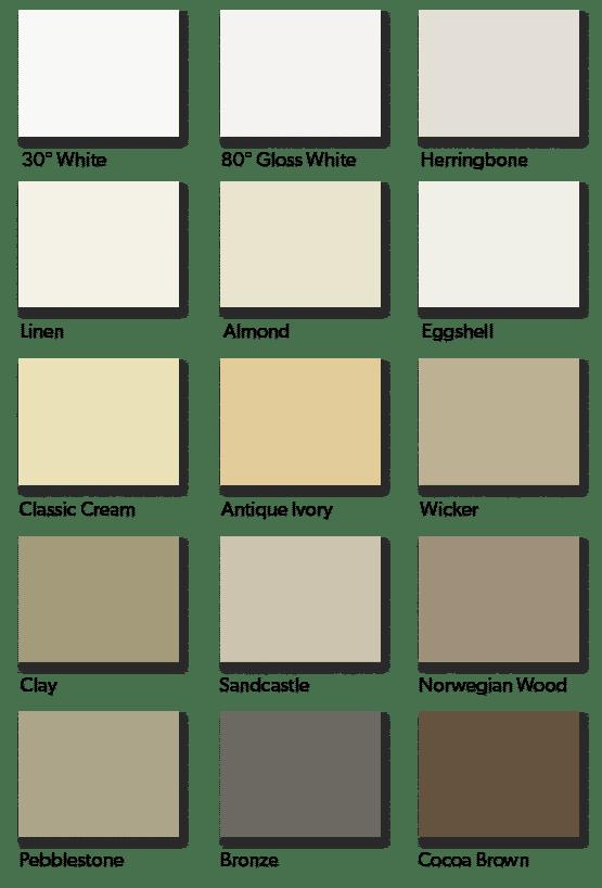 Painted Aluminum Gutter Color Choices
