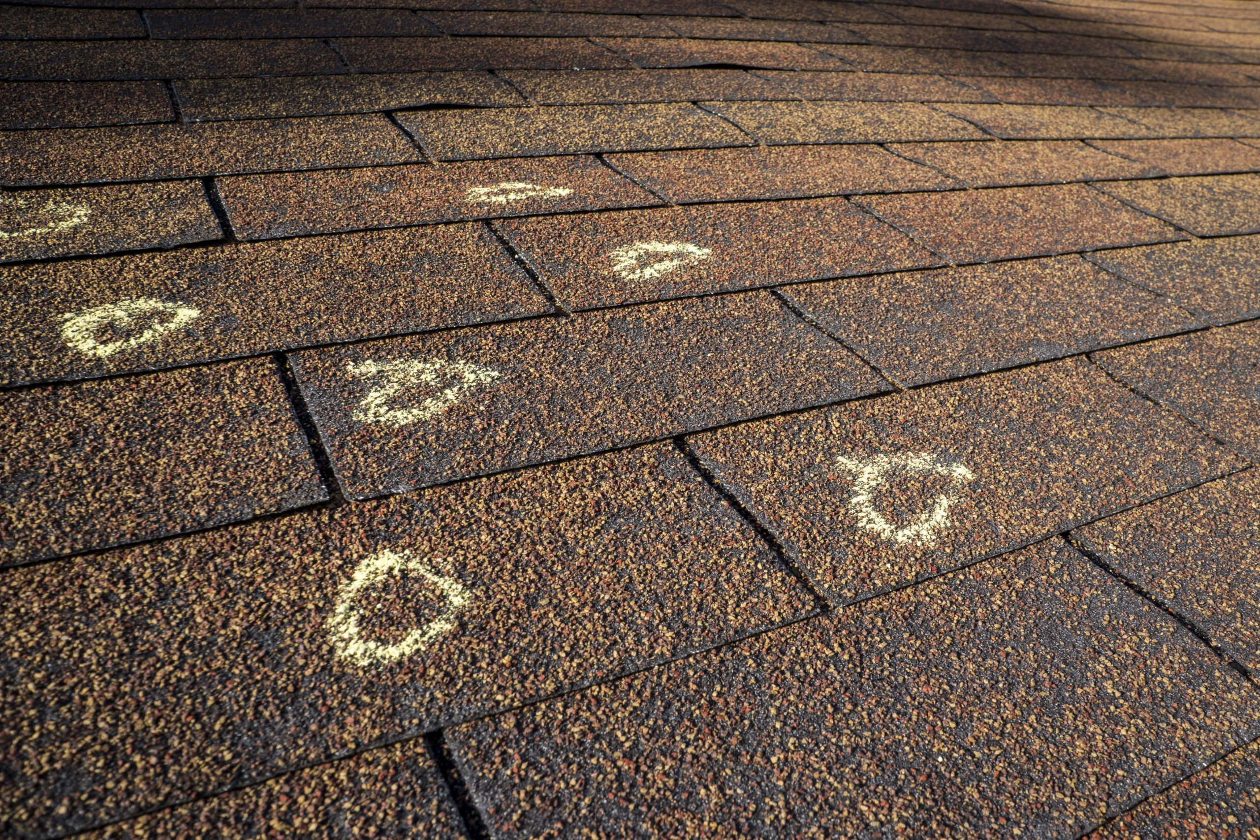 Roof Inspection - Hail Damage